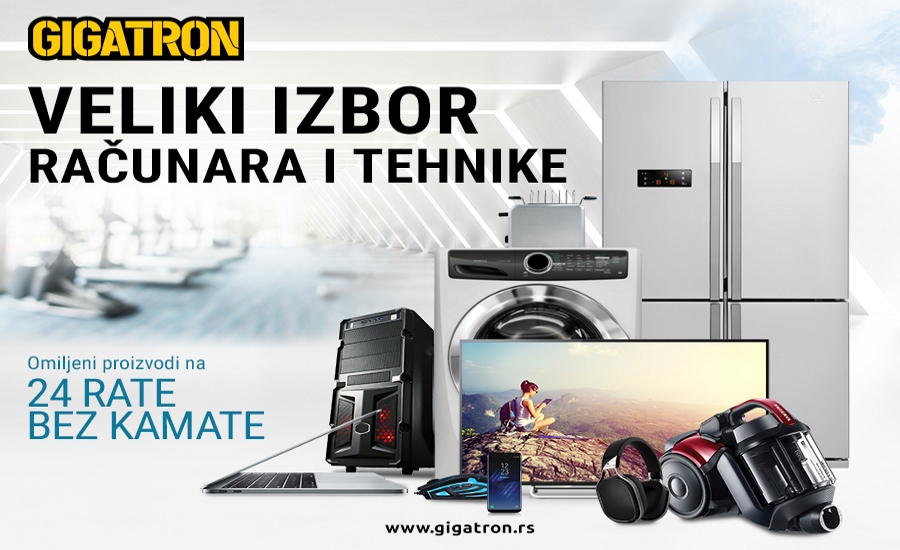 Brza i sigurna online kupovina na www.gigatron.rs